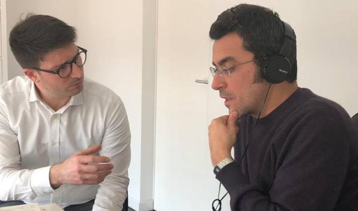Paolo Lanciani e Nicole Di Molfetta registrano Complex